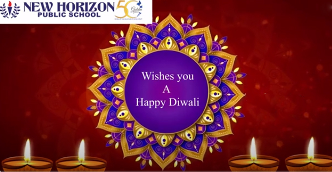 New Horizon Public School wishes you all a very Happy Diwali!!!