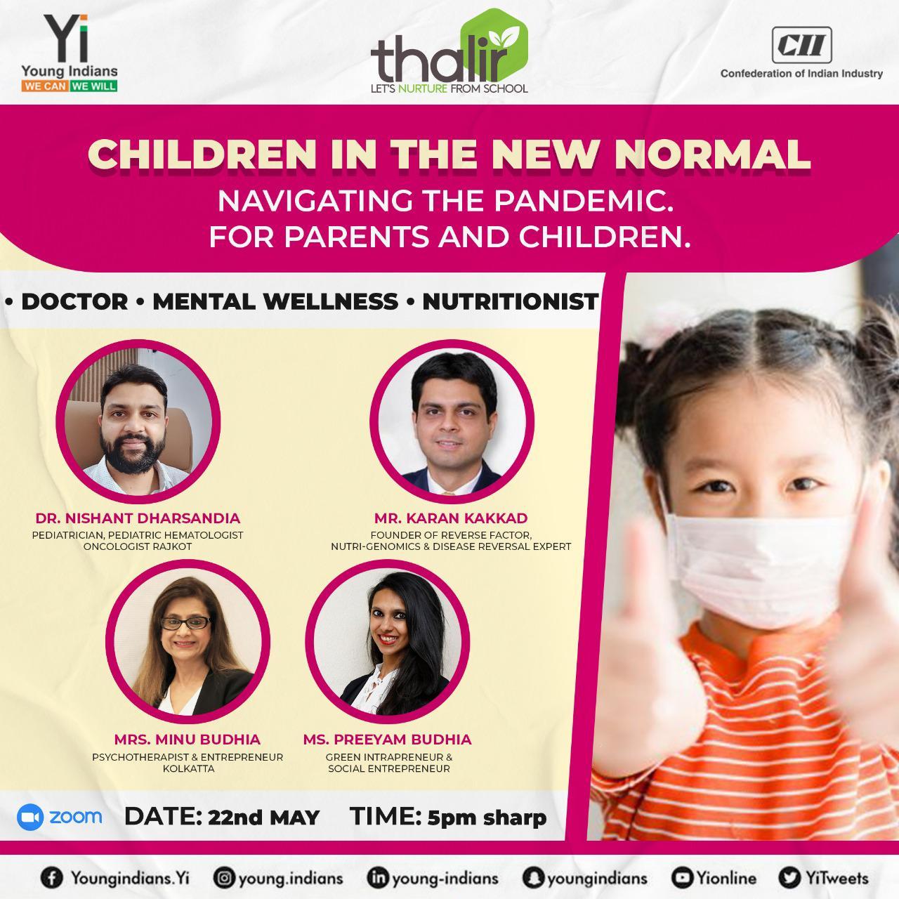 Webinar- Children in the new normal